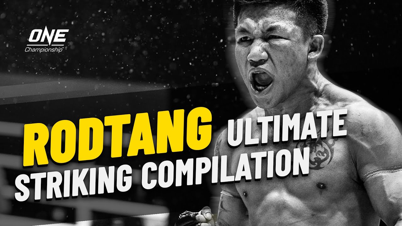 Rodtang's ULTIMATE Striking Reel | ONE Championship Highlights