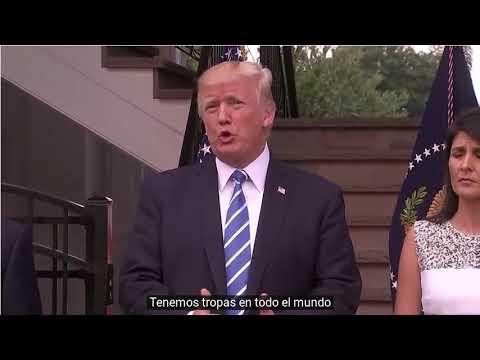 Donald Trump: No descarto una opción militar contra Venezuela