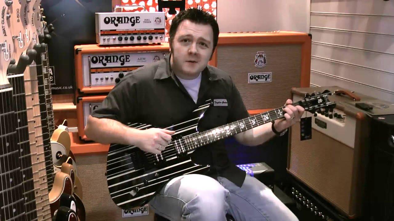 Schecter Synyster Gates Custom Review (2019) | GuitarFella com