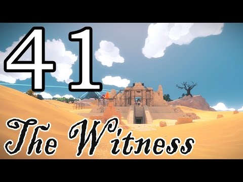 [41] The Witness - Water Puzzles - Let's Play Gameplay Walkthrough (PS4)