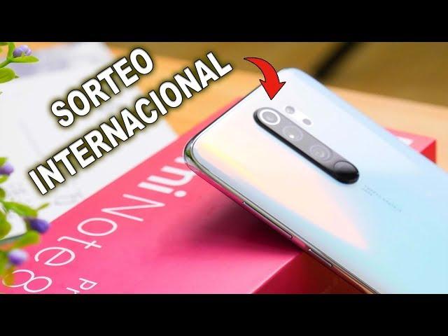 Sorteo INTERNACIONAL Xiaomi REDMI NOTE 8 Pro (el bueno)