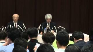 「吉田調書」めぐる報道で朝日新聞が記者会見 (2014年9月11日) thumbnail