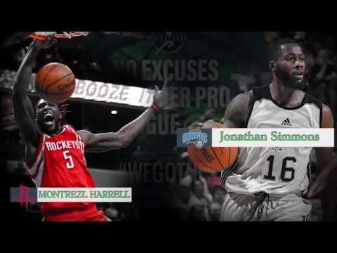 Montrezl Harrell vs. Jonathan Simmons 8-2-17