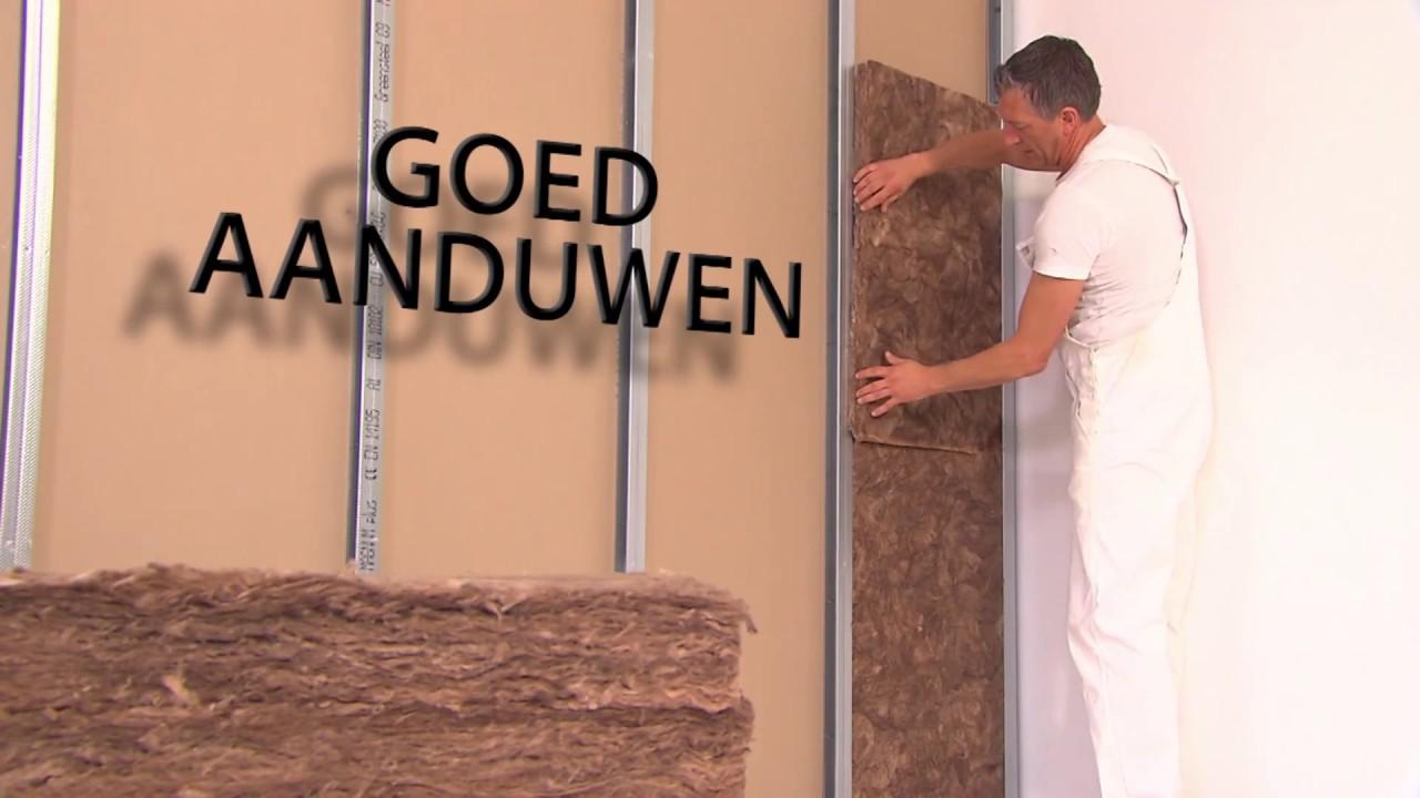 Knauf Insulation EASY Binnenwand - Verwerkingsvideo