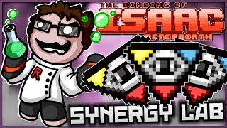 The Binding of Isaac: Afterbirth - Synergy Lab: ULTIMATE GOD HEAD!