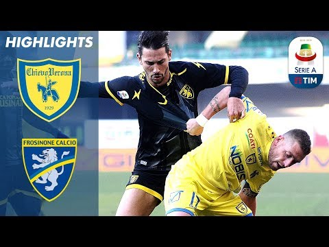 Chievo 1-0 Frosinone | Giaccherini Gets Only Goal Against 10 Men! | Serie A