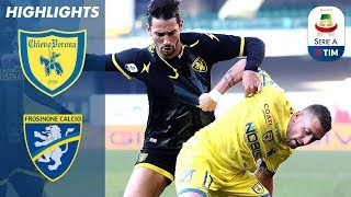 Chievo 1-0 Frosinone | GiaccheriniGets Only Goal Against 10 Men! | Serie A
