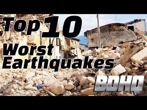 Top 10 Worst Earthquakes in History!