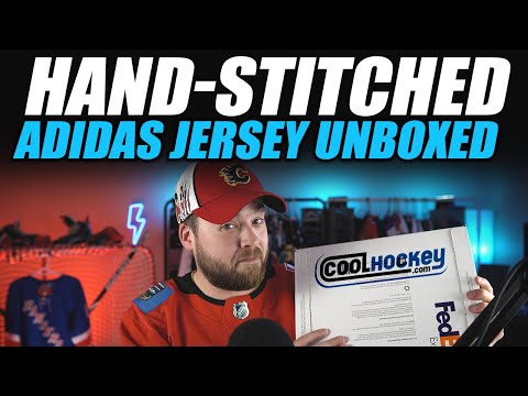 Hand-Stitched NHL Adidas Jersey Unboxed!
