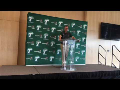 Tulane coach Willie Fritz's weekly press conference before Tulsa game
