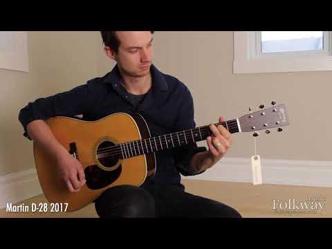 Martin D-35 vs. Martin D-28 2017 Comparison - Folkway Music