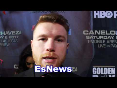 Canelo - We Gave GGG An Offer It's On Him Now - esnews boxing