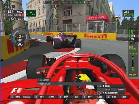 GP4 MOD 2018 v0 1 Track 04 Baku