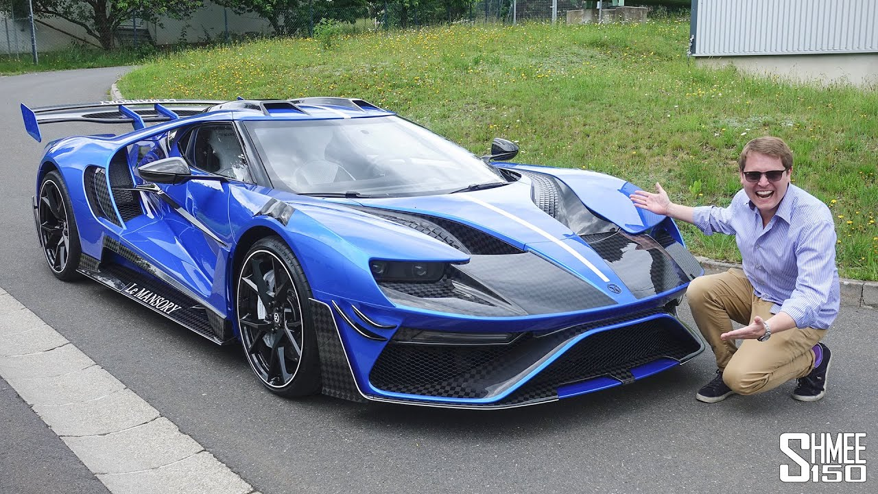 Le Mansory Is The Craziest Ford Gt In The World By Shmee150