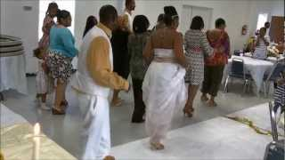 "Best Wedding ""line dance"" ever"