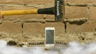 شاهد iPhone 6S يخضع للتعذيب بإستخدام سائل النيتروجين والمطرقة
