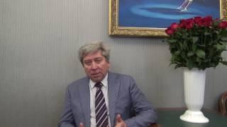 Приветсвие генерального директора Росгосцирка Дмитрия Иванова участникам телемоста