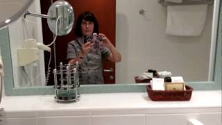 Отель Ривьера, Петровац, Черногория, ванная комната. Hotel Riviera, Petrovac, Montenegro, bathroom.