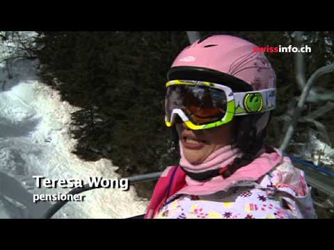 Chinese turn to Swiss ski resorts