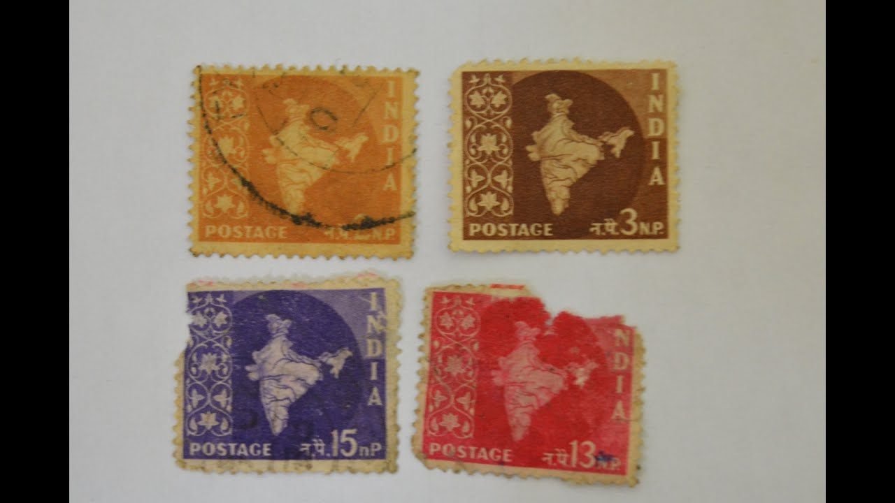 old stamps of india part1 youtube