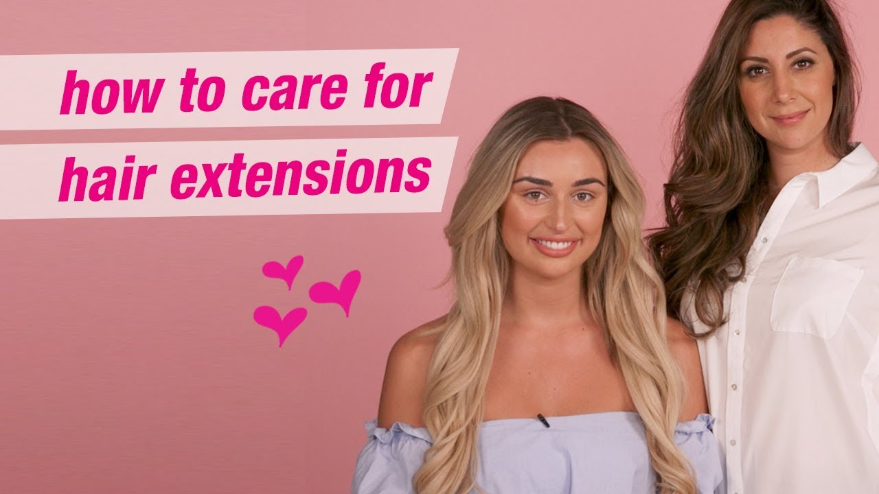 How To Care For Your Hair Extensions Rachel Fenton Arabella Rose