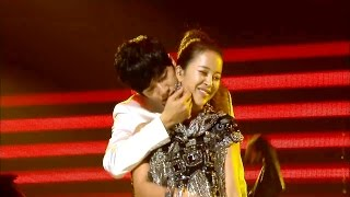 【TVPP】Lee Seung Gi - Candy in my ears (with Baek Ji Young), 이승기 - 내 귀에 캔디 (with 백지영) @ 2009 KMF Live
