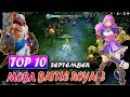 Top 10 New Game MOBA + Battle Royale in September 2018 | Android/IOS Gameplay