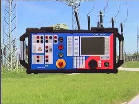 Omicron   CPC100   An Innovation in Substation Testing