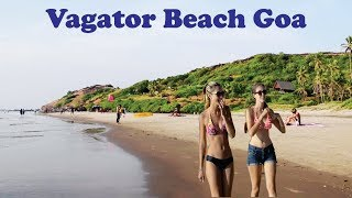 Vagator Beach || Vagator Beach Goa || Best Beach Goa || North Goa Beach