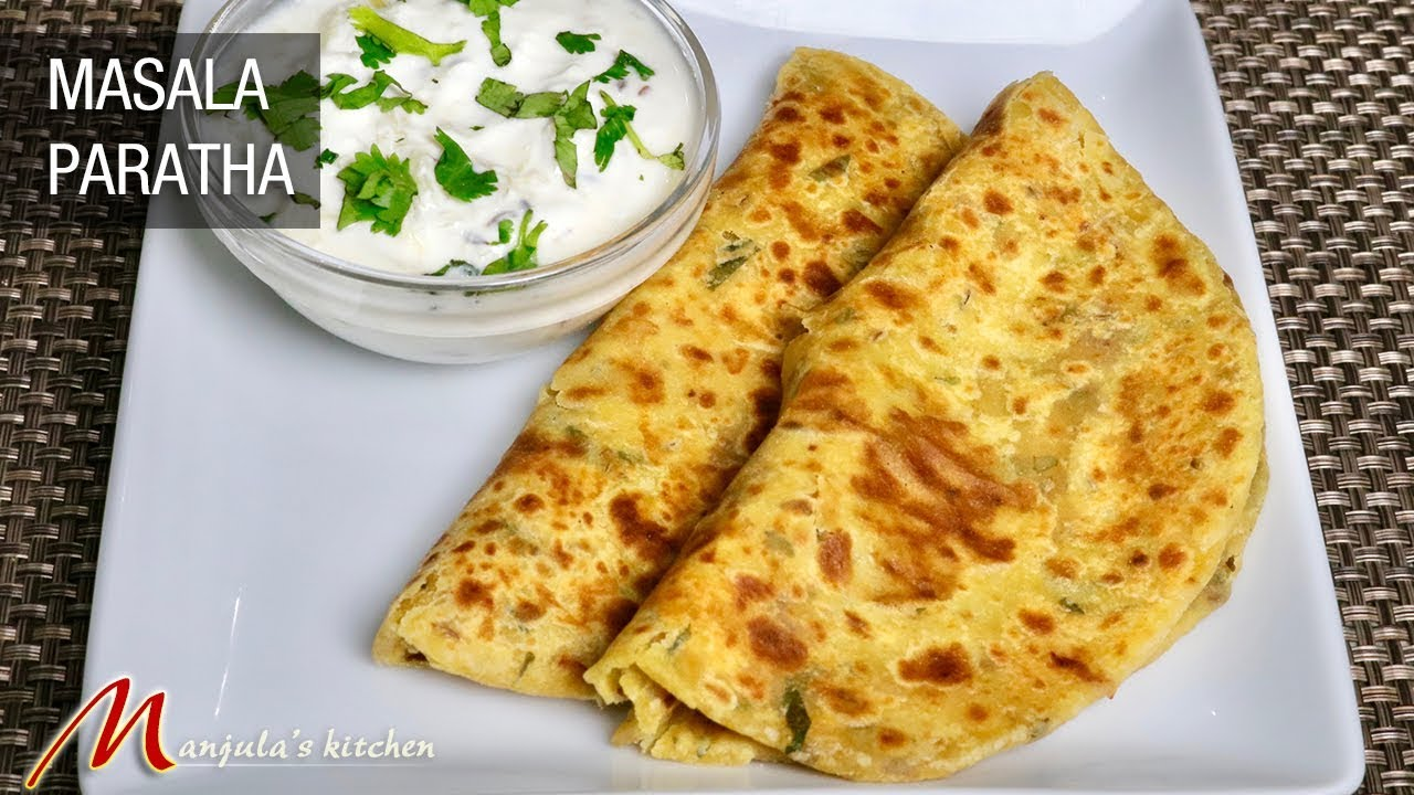 Masala Paratha, Besan ka Paratha, Indian Flat Bread Recipe ...