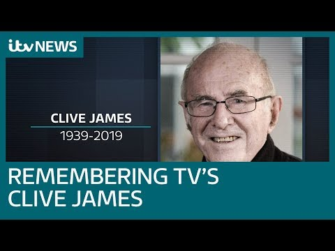 Tributes To 'brilliantly Funny' Clive James After Death, Aged 80 | ITV News