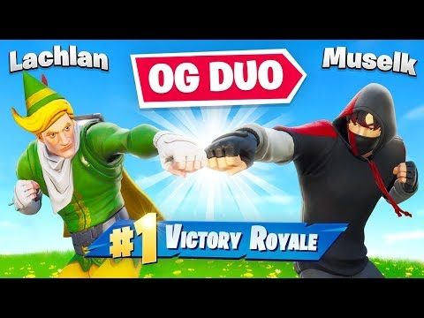 Lachlan + Muselk Playing like the OG Fortnite Days