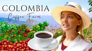 Visiting a Coffee Farm | Colombia Travel Vlog | Things to Do in Medellin