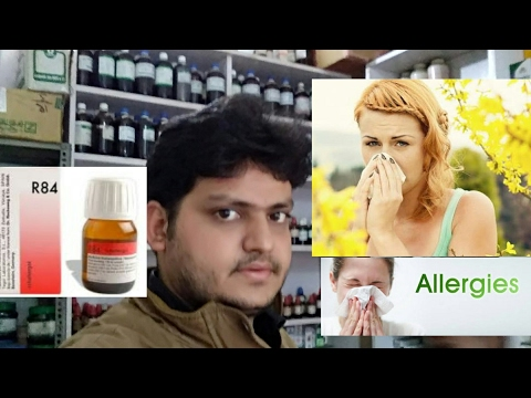 Homeopathic medicine for allergy rhinitis sinusitis and astma