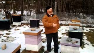 Beekeeping in the Winter Time