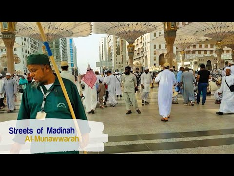 Streets of Madinah al Munawwara