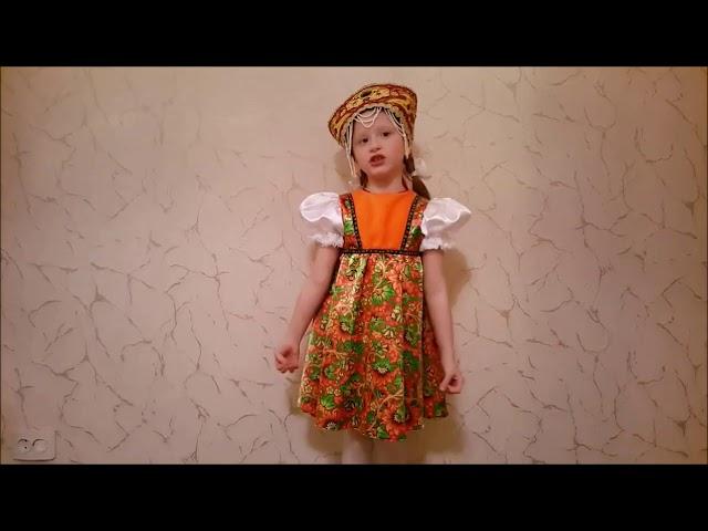 Изображение предпросмотра прочтения – МарияИгнатьева читает произведение «Русские народные потешки» (Русский фольклор )