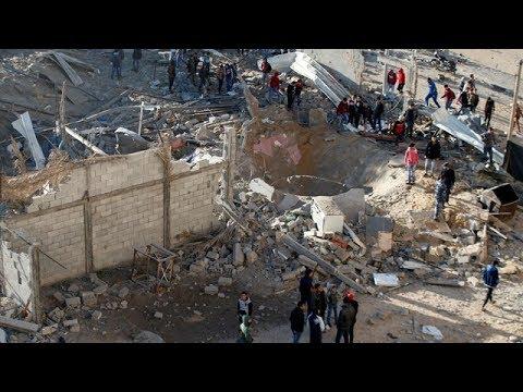 Israeli Airstrikes Kill 2 Hamas Men After Gaza Rocket Attack