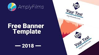 Free Banner Template #19 // Photoshop 2018