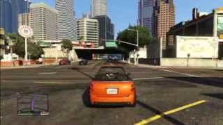 GTA 5 ORANGE MINI COOPER S SPYDER