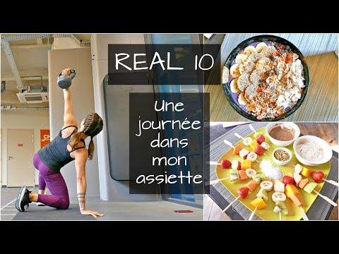 UNE JOURNEE DANS MON ASSIETTE I Fitnessfood 100% végétale, macros, ingrédients.