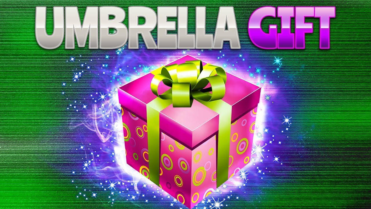 Umbrella Gift Fortnite Battle Royale Rhinocrunch Youtube