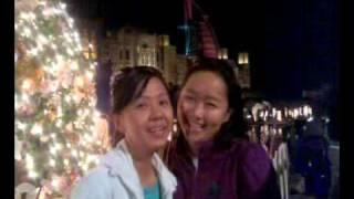 Merry Christmas - Neph and Carm Burj al arab (evening in Dubai)