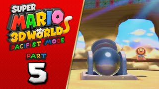 Mo Cannons, Mo Problems ll Koops Plays: Super Mario 3D World Pacifist Run Part 5