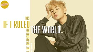 BTS If I Ruled The World Line Distribution