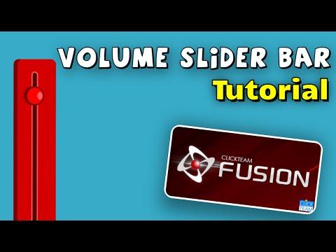 Volume Slider Bar Tutorial for Clickteam Fusion 2.5
