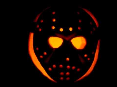 jason mask pumpkin carving youtube