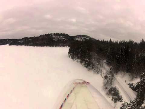 Stig flyr Bixler 2 FPV på Grimevann i Lillesand Norway RC