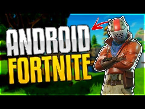 FORTNITE MOBILE ANDROID RELEASE DATE + NEWS!!!