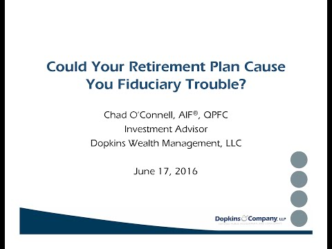 Best Practices for Retirement Plan Fiduciaries